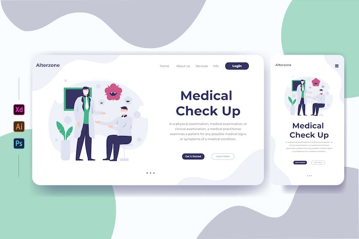 Medical Check Up 02 - Zielseite