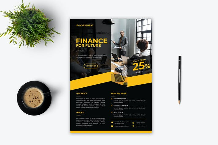 Thumbnail for Finance Flyer - 1