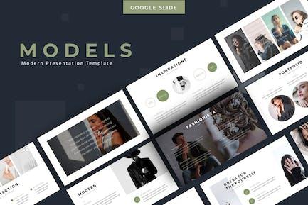 Models - Google Slides Template