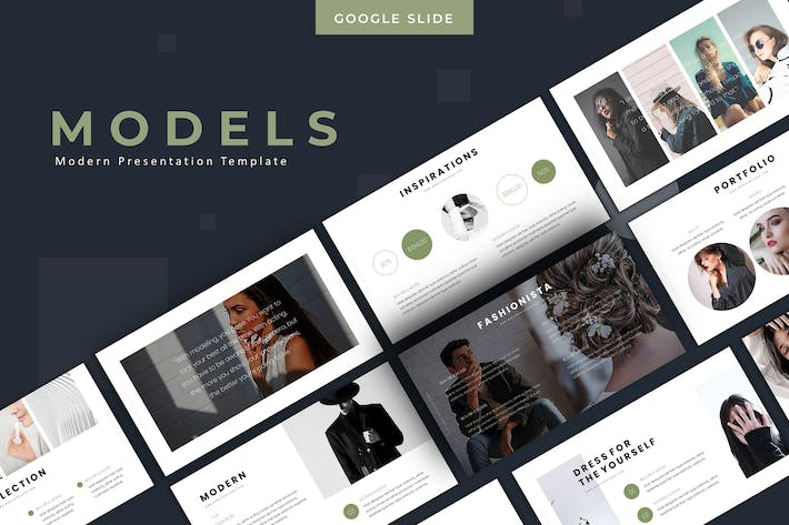 Models - Google Slides Template