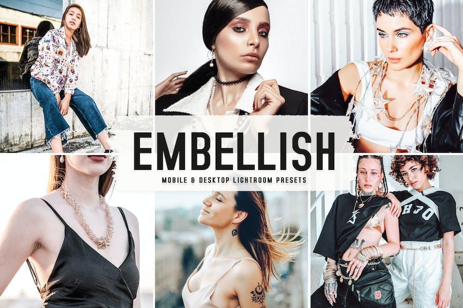 Embellish Mobile & Desktop Lightroom Presets
