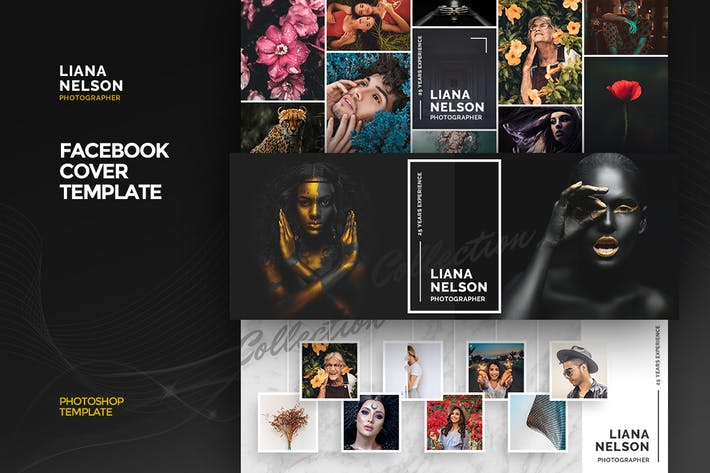 Cover Image For Photographer Facebook Cover Template