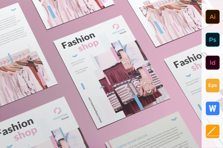 Cover Image For Fashion Shop Flyer