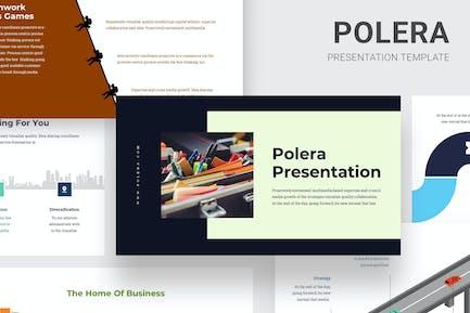 Polera - Timeline Infographics Google Slides