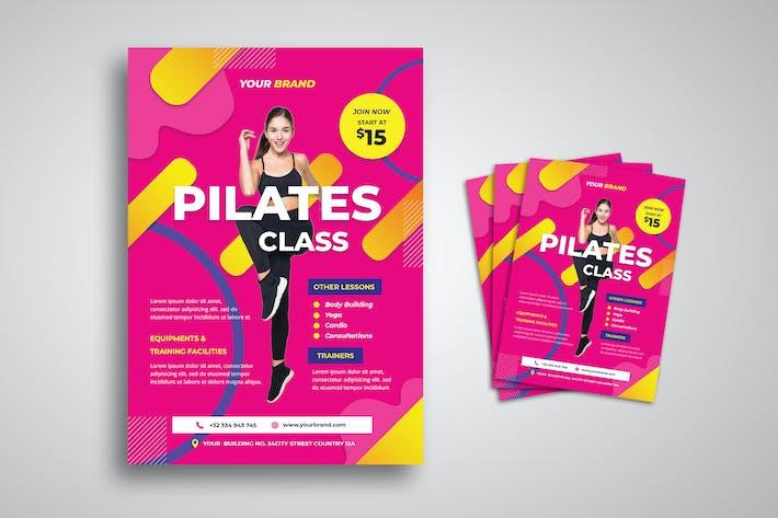 Thumbnail for Pilates Training Flyer