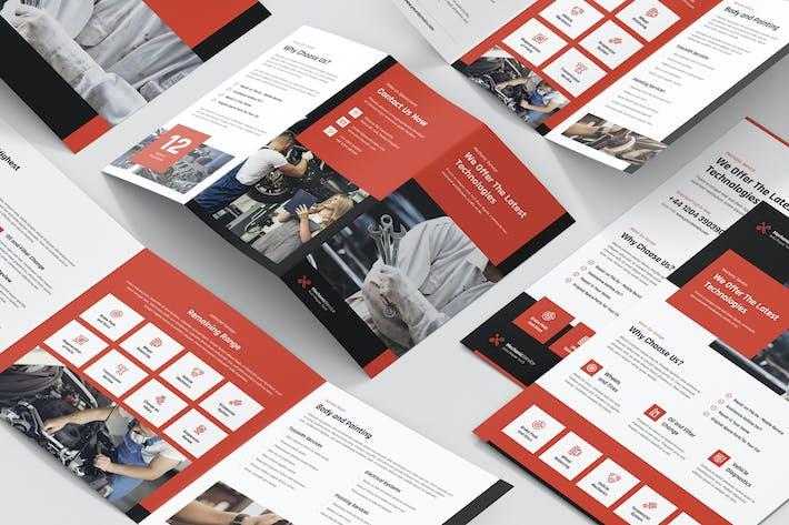 Thumbnail for Mechanic – Brochures Bundle Print Templates