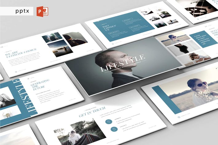 Thumbnail for LIFESTYLE - Multipurpose Powerpoint Template V62