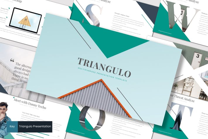 Thumbnail for Triangulo - Keynote Template