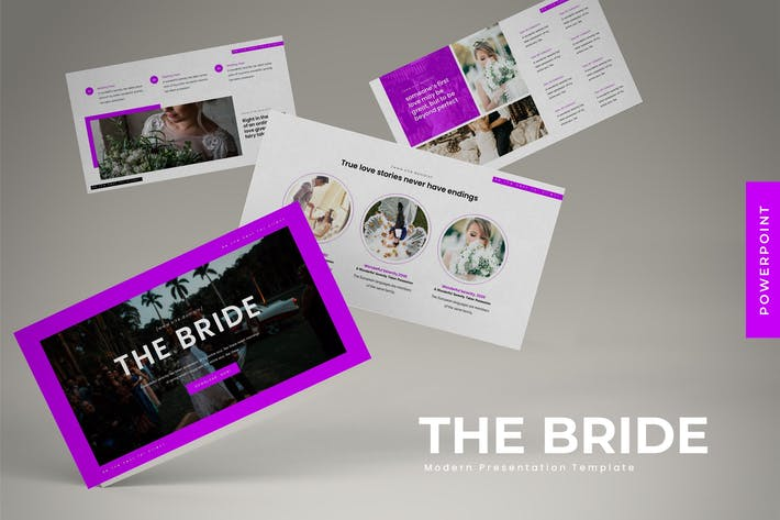 Thumbnail for The Bride - Powerpoint Template