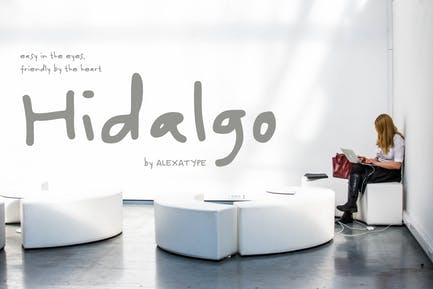 Hidalgo - Friendly Handwriting Font