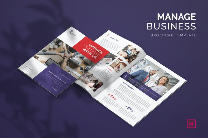 Manage - Brochure Template