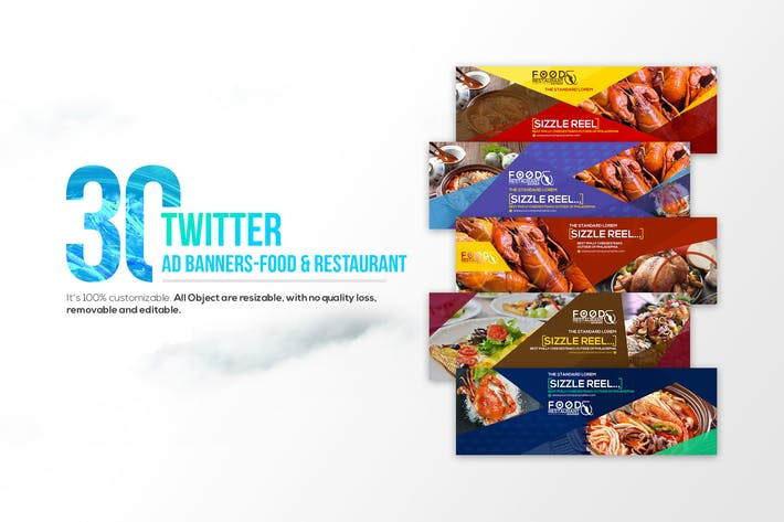 Thumbnail for 30Twitter Cover-Essen & Restaurant