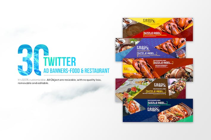 Thumbnail for 30Twitter Cover-Food & Restaurant