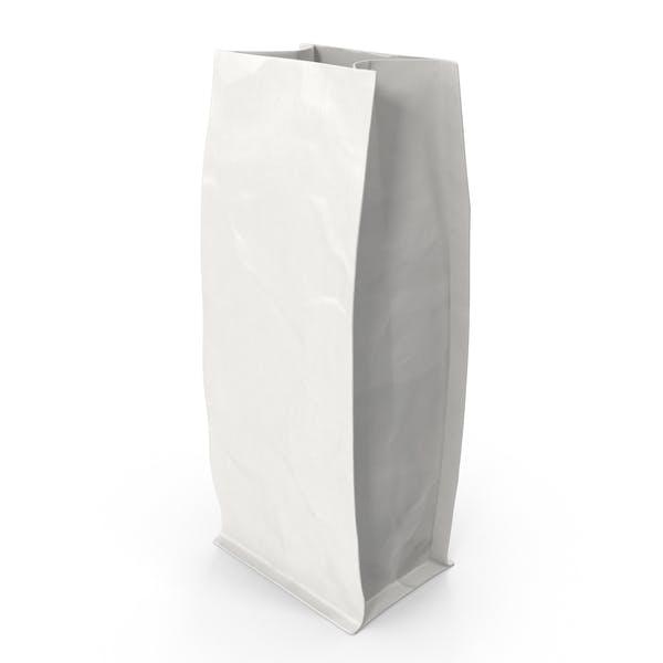 Thumbnail for Flat Bottom Pouch 250g Open White