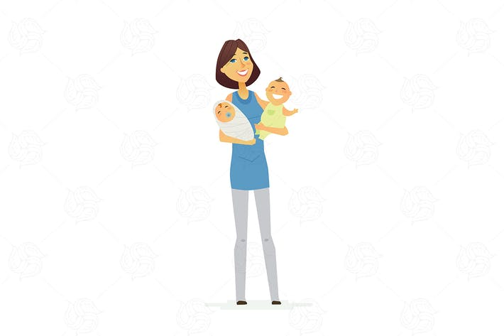 Thumbnail for Family - modern vector illustration