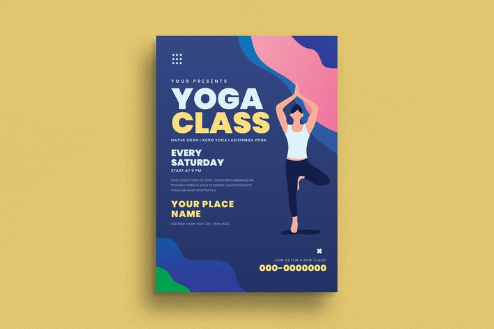 Thumbnail for Yoga Class Flyer