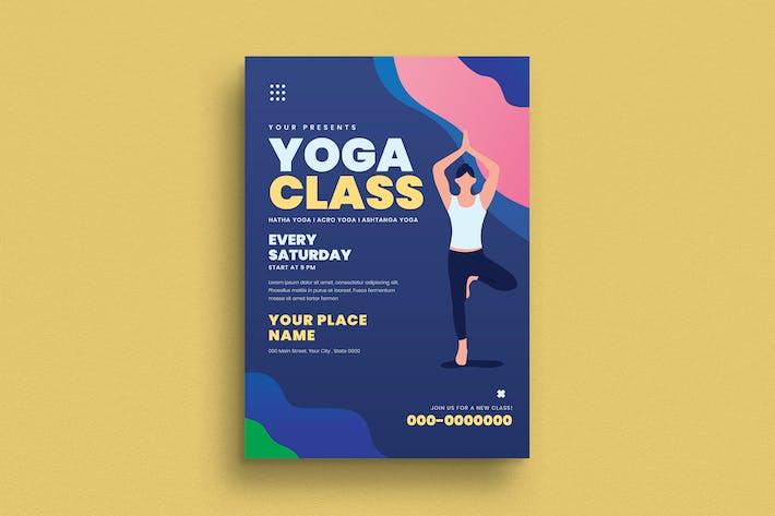 Yoga Class Flyer