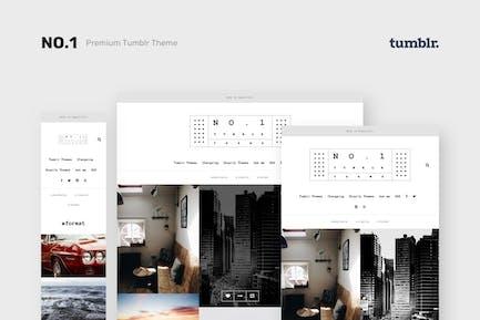 NO.1 | Creative Portfolio Tumblr Theme