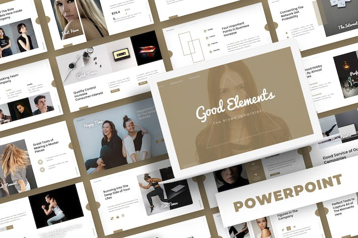 Thumbnail for Good Elements - Powerpoint Template