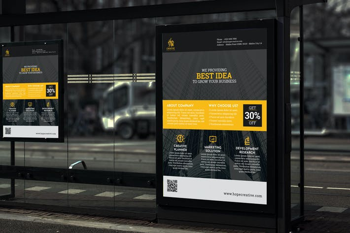 Thumbnail for Hope Creative Solution - Business Poster RB