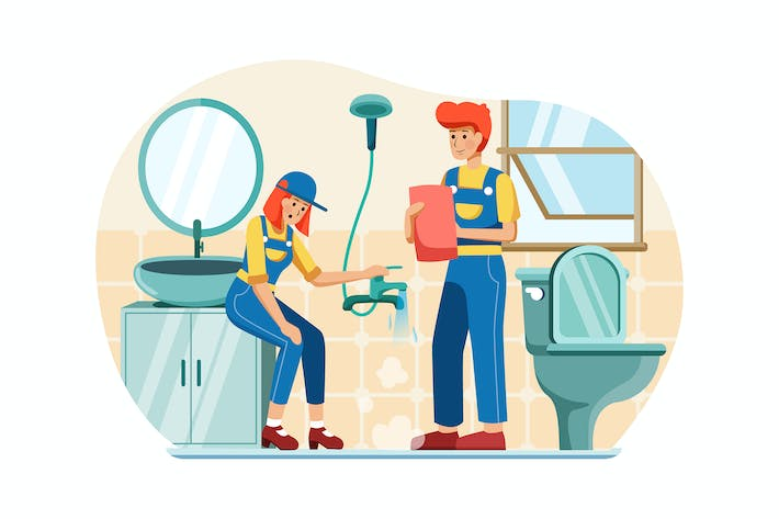 Thumbnail for Plumbers are soaking up the water in the conduit