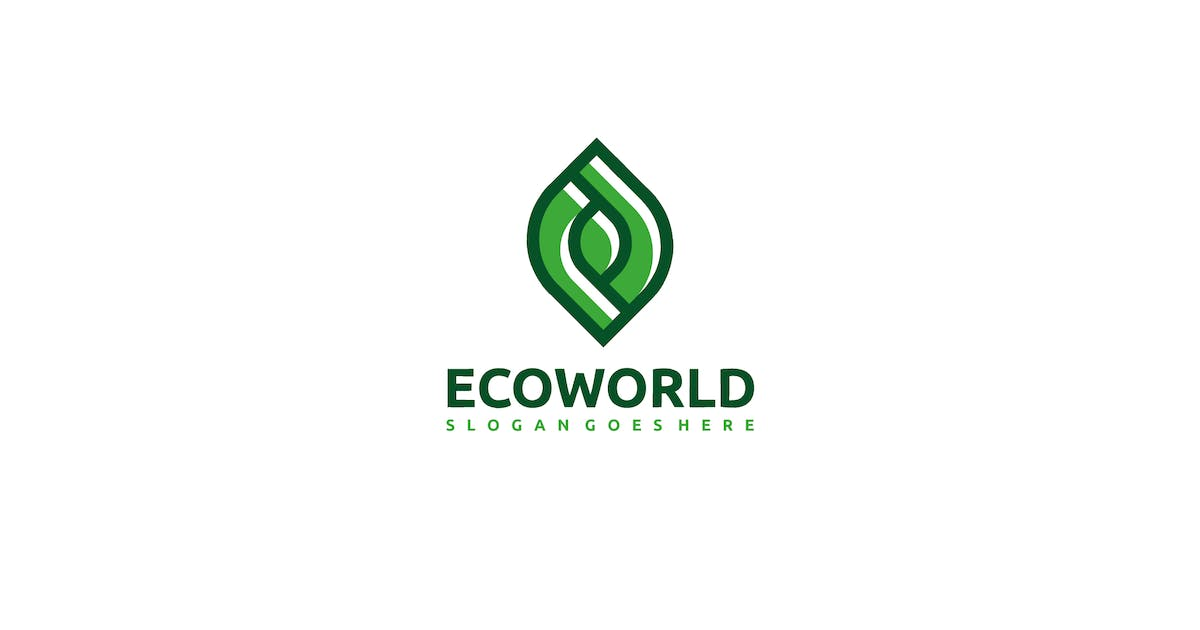 Download World Eco Logo by 3ab2ou