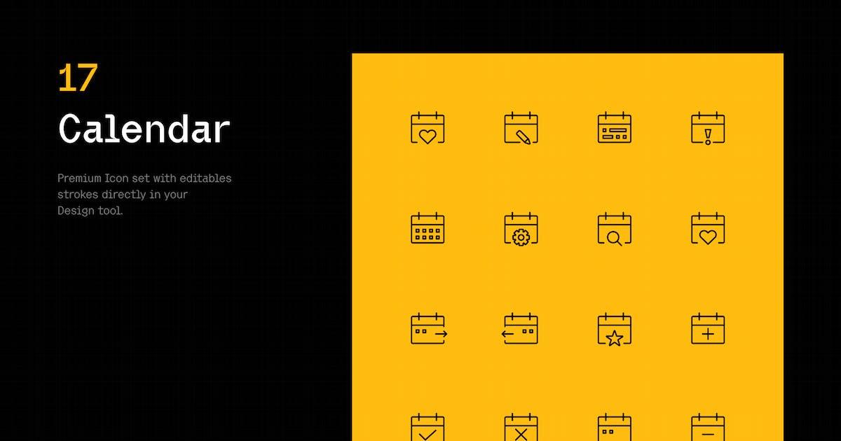 Download Calendar - Iconuioo by bilekpetr