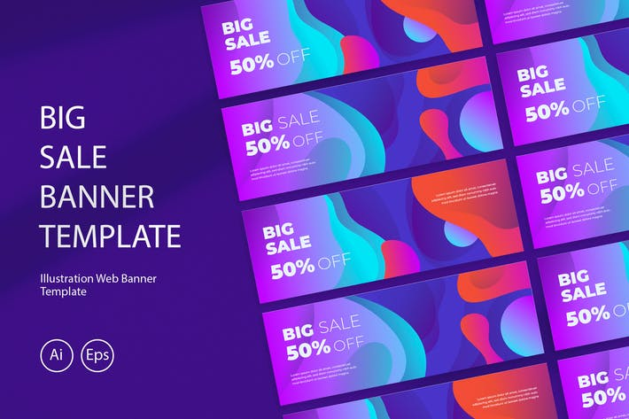Thumbnail for Big Sale Banner Template