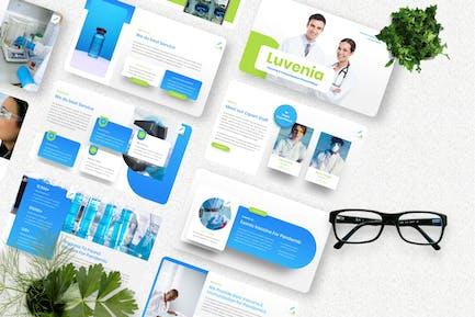 Luvenia - Vaccine Googleslide Template