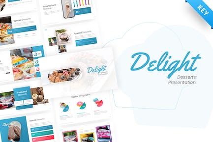 Delight - Dessert & Cake Keynote Template