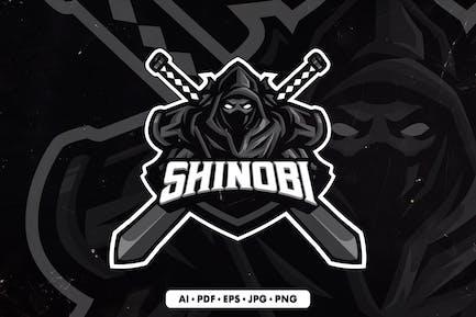 Shinobi 1 Mascot Logo template