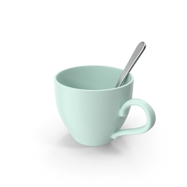 Cover Image for Teacup With Spoon