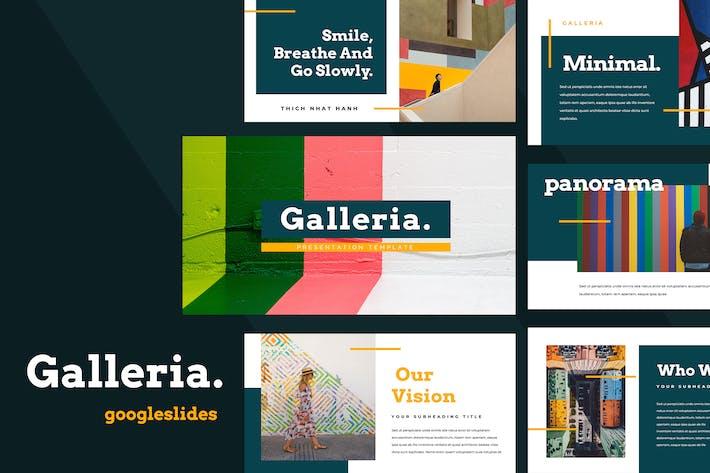 Thumbnail for Galleria Colorful Google Slides Presentation