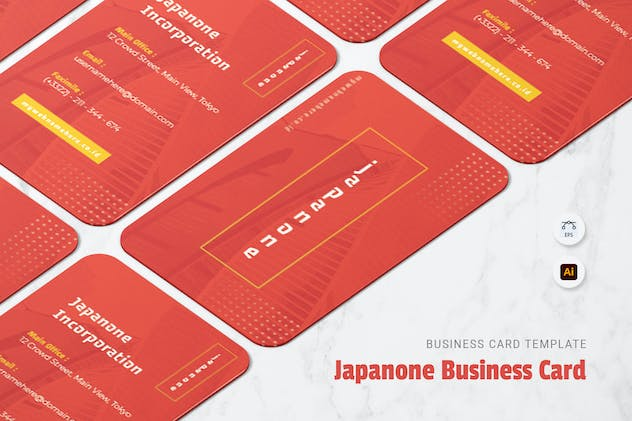 Japanone Business Card