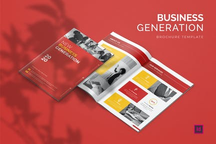 Generation Business - Brochure Template