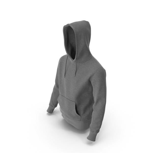 Mens Hoody Grey