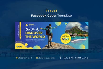 Travel r1 Facebook Cover Template