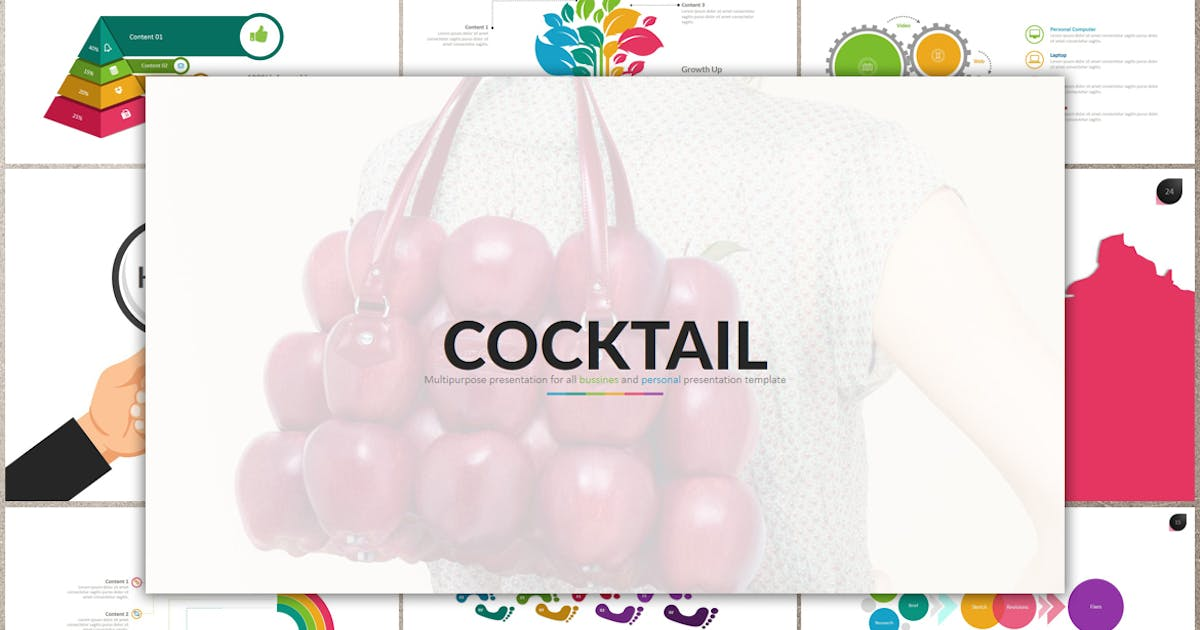 Download COCKTAIL Keynote by Artmonk