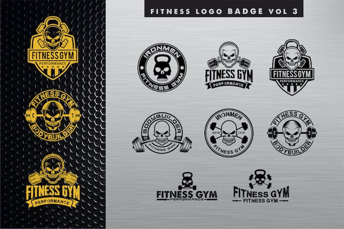 Thumbnail for FitnessLogo Badge Band 3