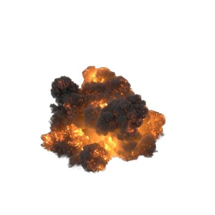 Explosión de gasolina