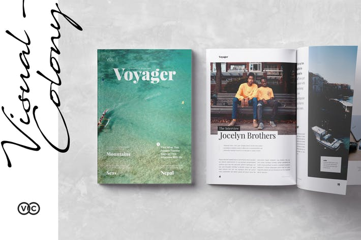 Thumbnail for Voyager Magazine
