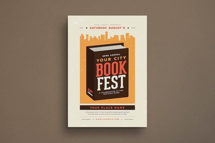 Thumbnail for Book Festival Event Flyer