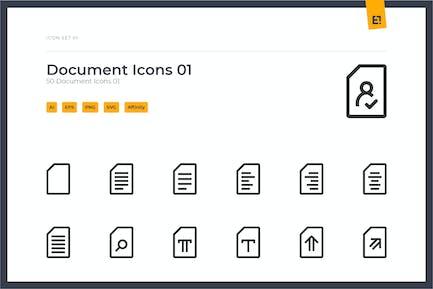 Icono - Documents Icon Set 01