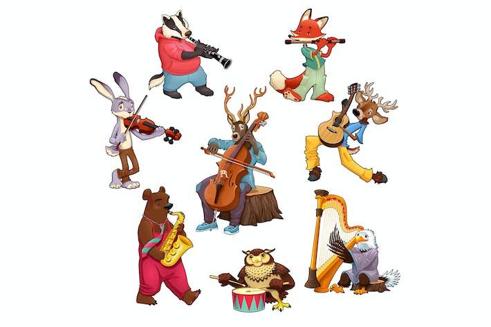 Thumbnail for Musician Cartoon Animals