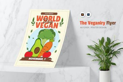 Veganity World Flyer