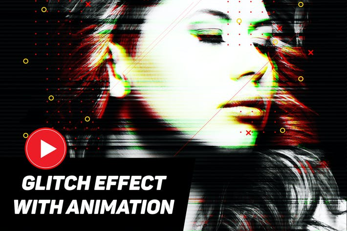 Thumbnail for Modern Glitch with GIF Animation