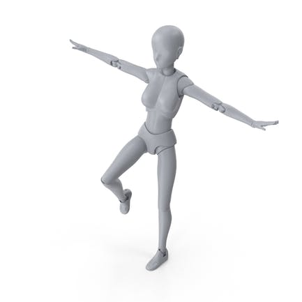Mannequin Female Balance