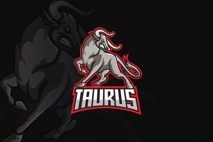 Thumbnail for Taurus - Animal Mascot & Esport Logo V.1