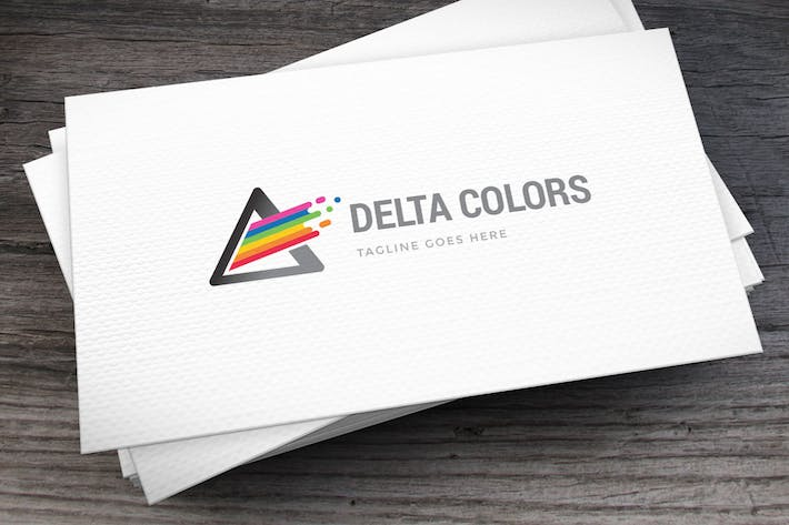 Thumbnail for Delta Colors Logo Template