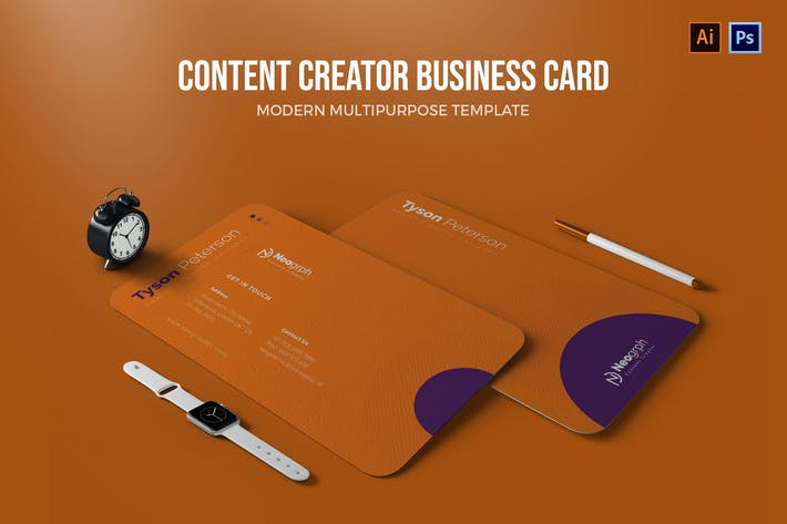 Thumbnail for Content Creator - Business Card